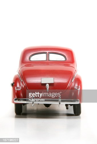 1940s car rear