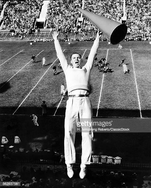 1940s MALE CHEERLEADER...
