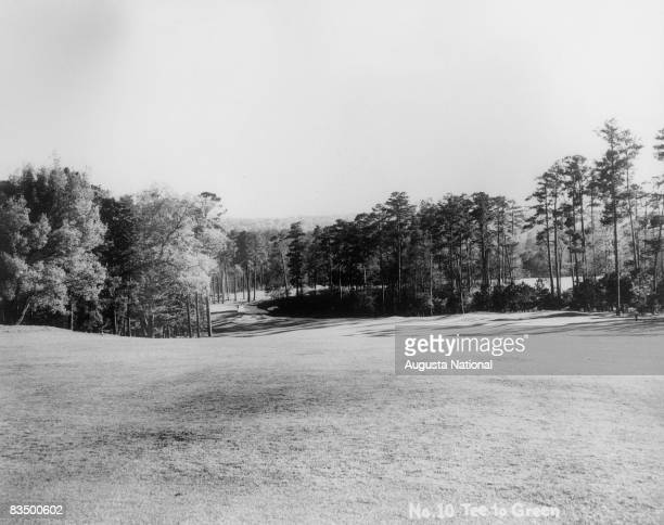 The tenth hole at Augusta National Golf Club in Augusta Georgia