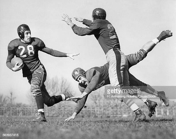 1940s THREE MEN PLAYING...