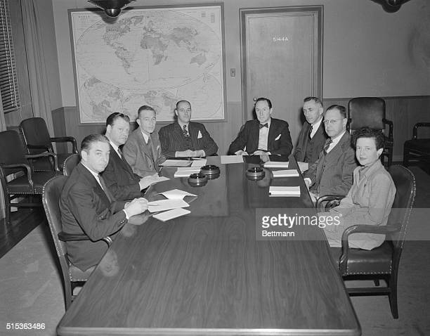 Meeting of the Policy Planning Staff headed by George Kennan