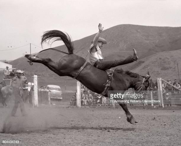 1950s 1953 COWBOY BRONCO.