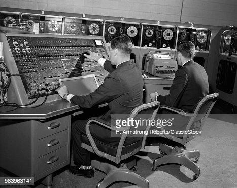 1950s 1960s UNIVAC...