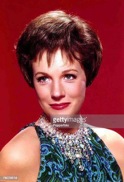 1950s A portrait of British actress Julie Andrews