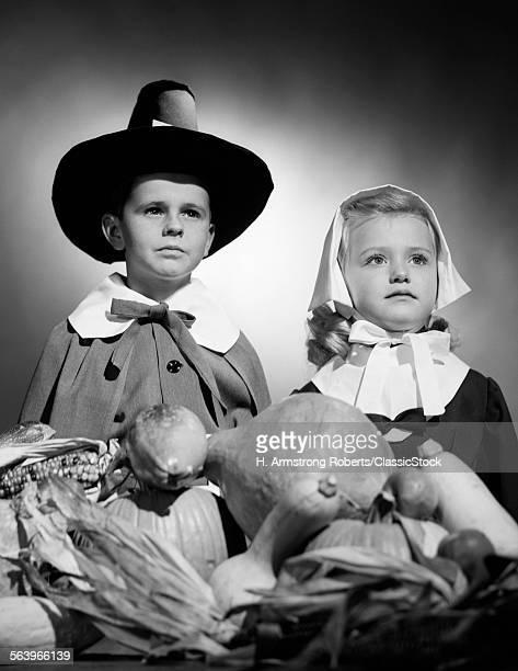 1950s BOY & GIRL IN...