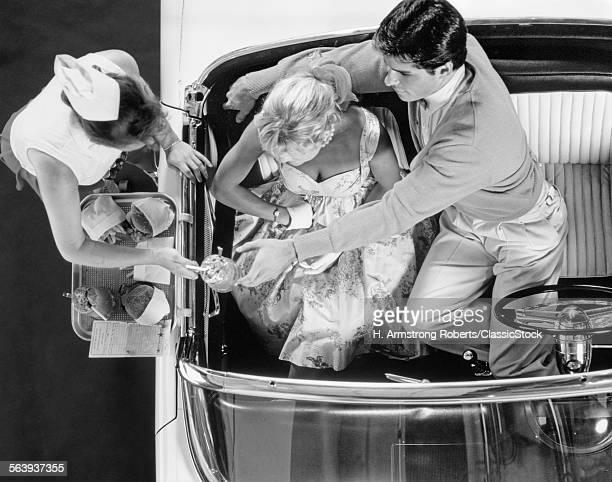 1950s DRIVE-IN RESTAURANT...