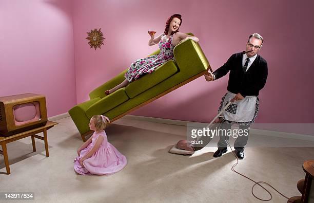 1950s family man