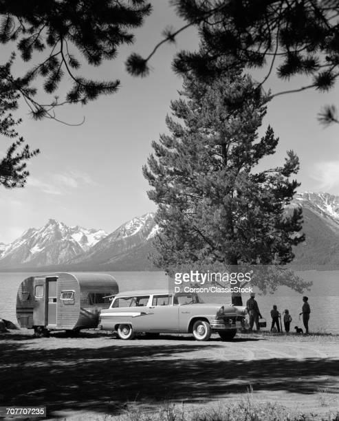 1950s FAMILY STATION WAGON...