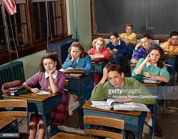 1950s HIGH SCHOOL...