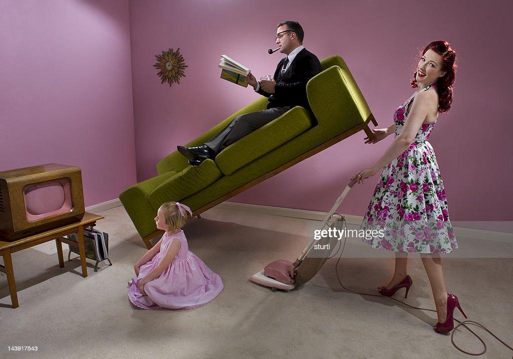 1950s housewife : Stock Photo