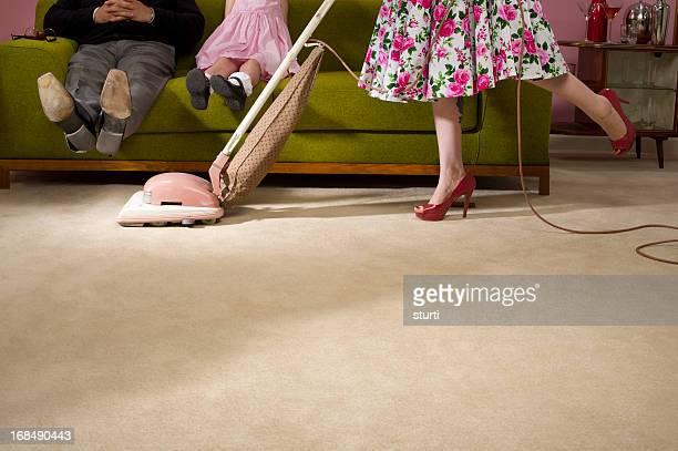 Década de 1950 las tareas domésticas