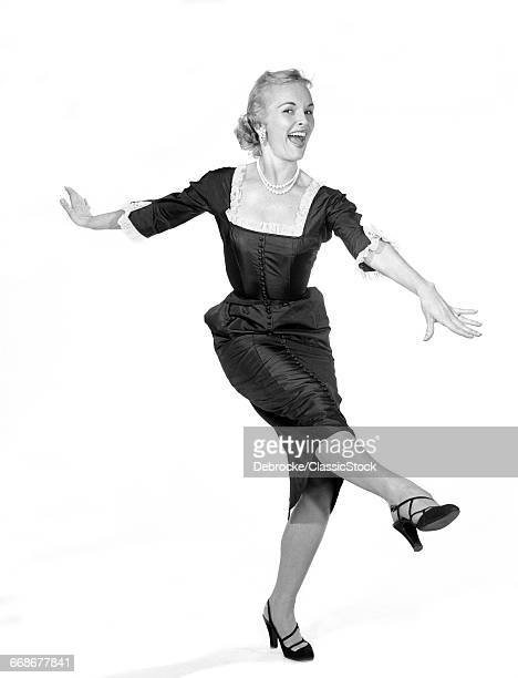 1950s LAUGHING HAPPY...