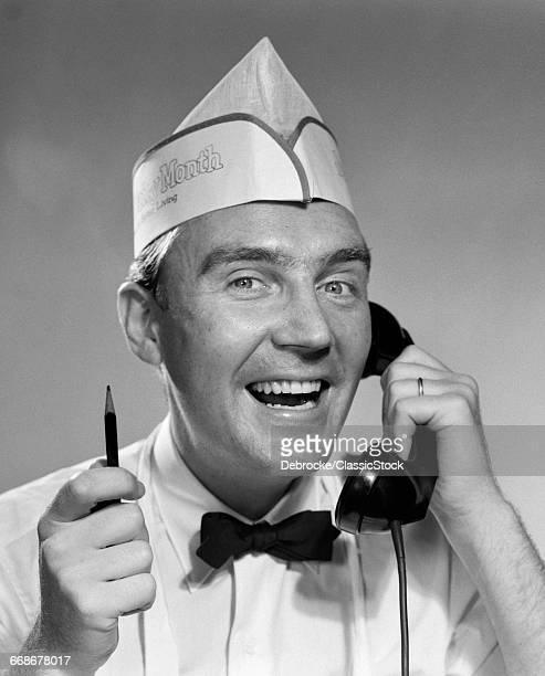 1950s MAN FOOD SERVICE...