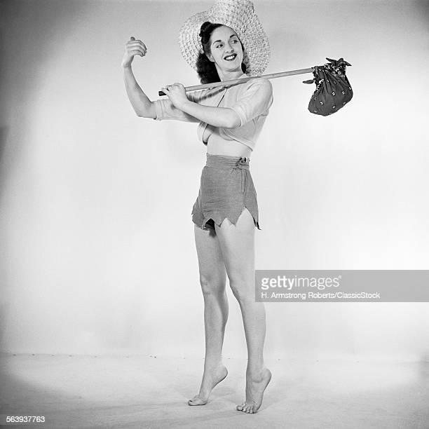 1950s PIN UP WOMAN WEARING...