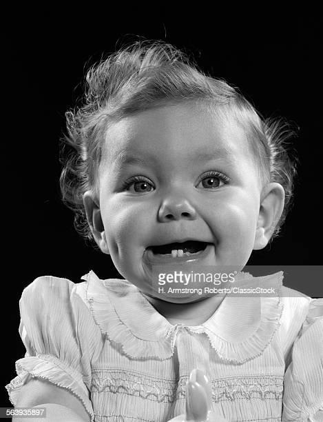 1950s PORTRAIT BABY GIRL...