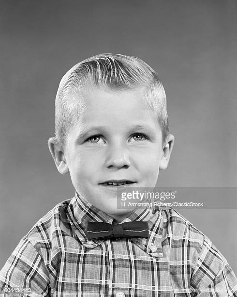 1950s PORTRAIT BLOND BOY.