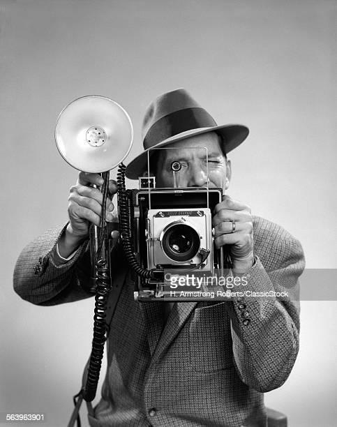 1950s PRESS PHOTOGRAPHER...