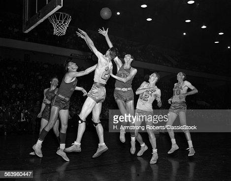 1950s PROFESSIONAL NBA...