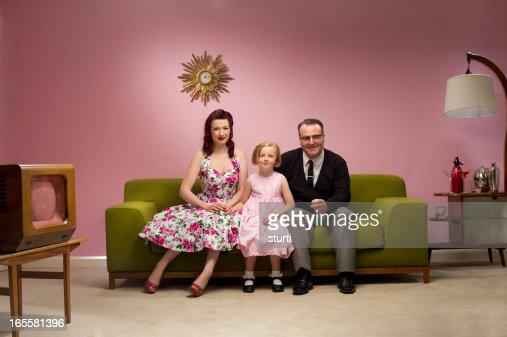 1950s tv family
