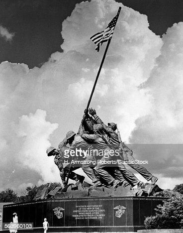 1950s USMC WAR MEMORIAL...