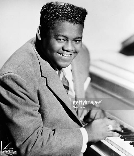 1956Fats Domino Rock N Roll singer and pianist