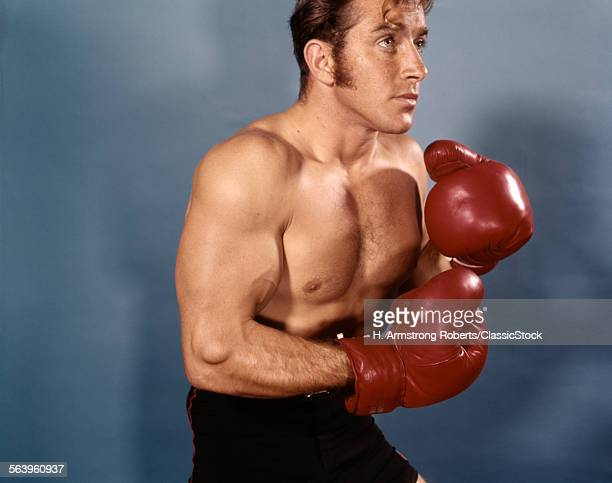 1960s 1970s MAN BOXER...