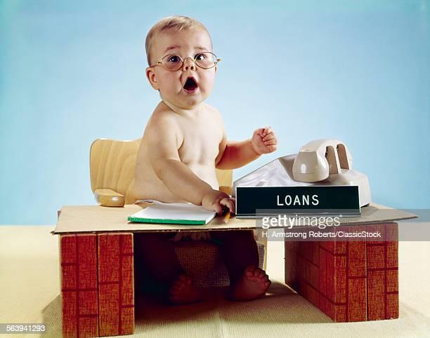 1960s BABY BUSINESSMAN...