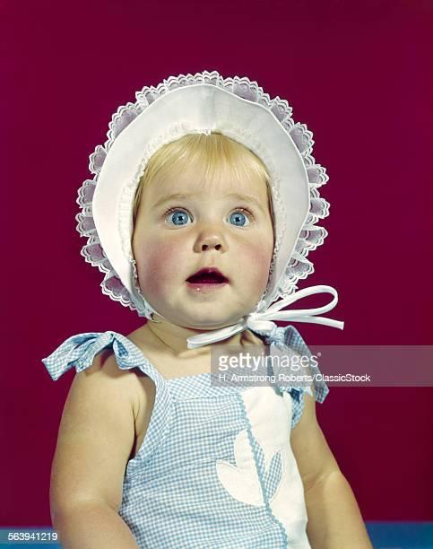1960s BLONDE BABY BLUE...