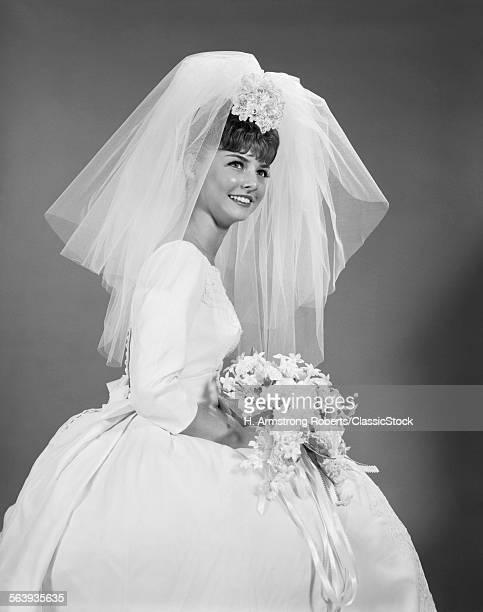 1960s BRIDE PORTRAIT IN...