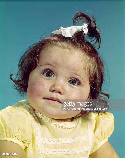 1960s BRUNETTE BABY GIRL...