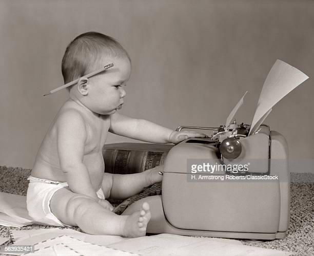 1960s BUSINESSLIKE BABY...