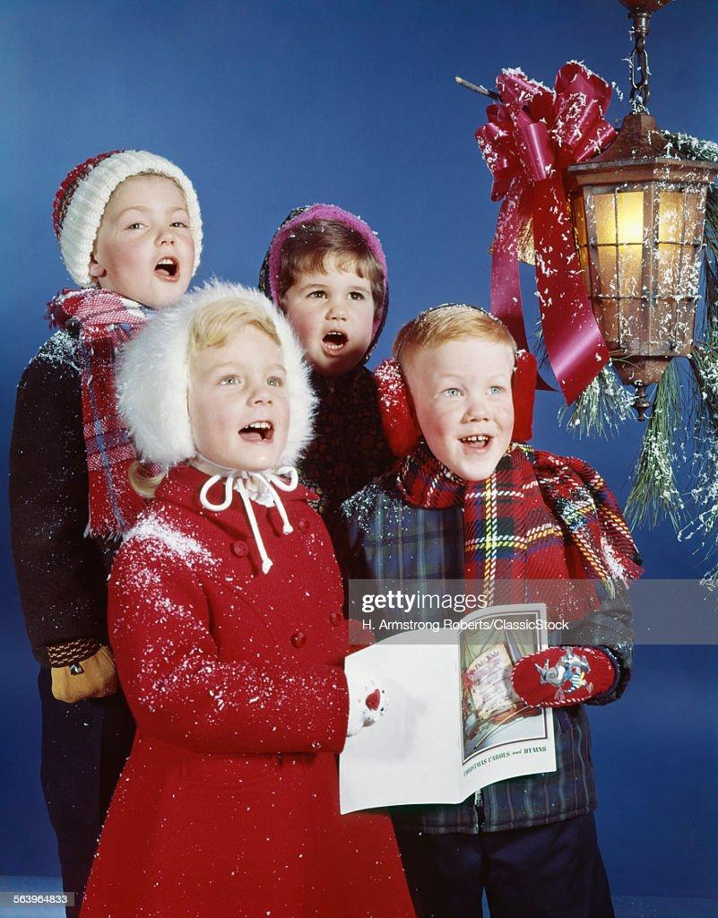 1960s CHILDREN SINGING...