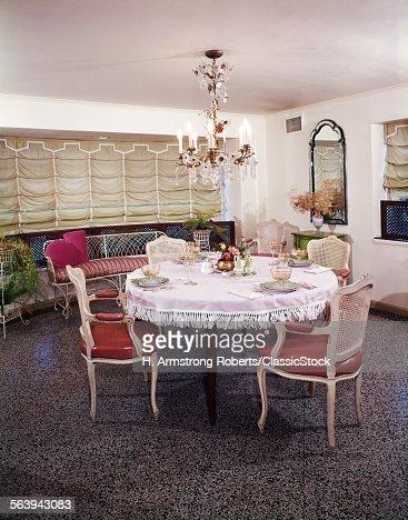 dining room in riegersburg castle by architect franz anton pilgram