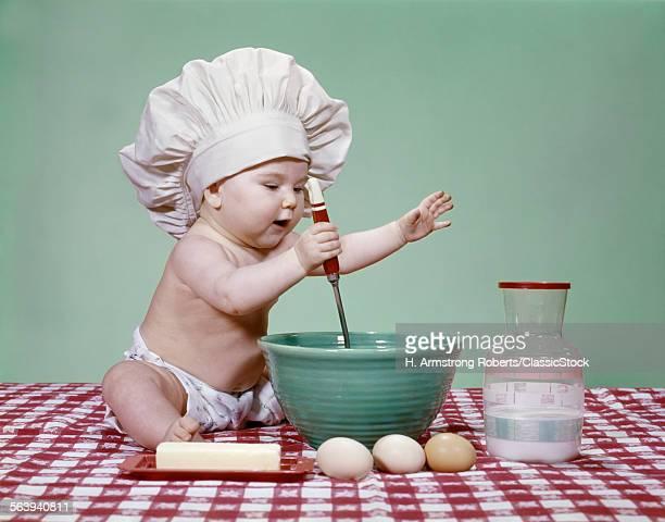 1960s ENERGETIC BABY GIRL...