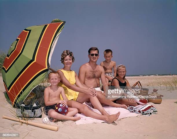 1960s FAMILY ON SUNNY...