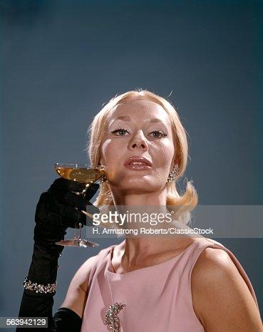 1960s FASHION ELEGANT...