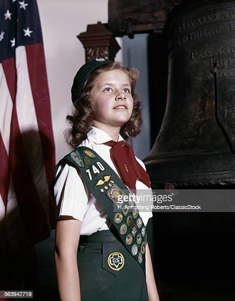 1960s GIRL SCOUT PROUDLY...