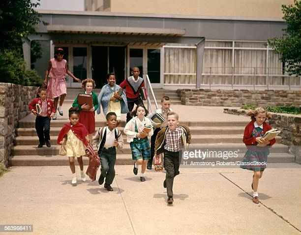 1960s GROUP OF SCHOOL...