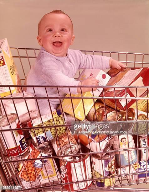1960s HAPPY BABY SITTING...