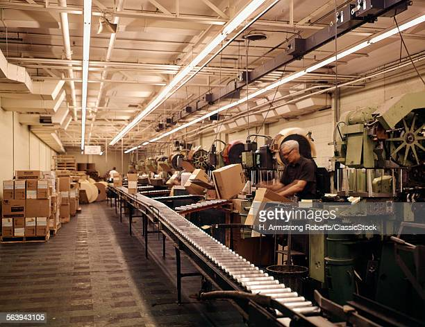 1960s INDUSTRY FACTORY...