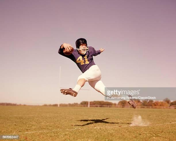 1960s JUMPING RUNNING...