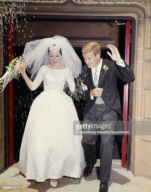 1960s JUST MARRIED BRIDE...