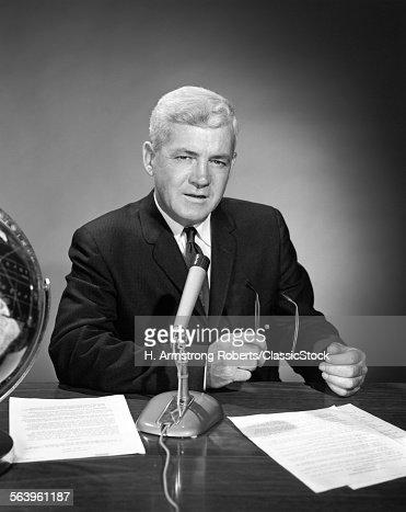 1960s MAN ANNOUNCER...