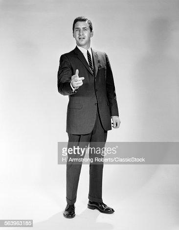 1960s MAN FULL LENGTH...