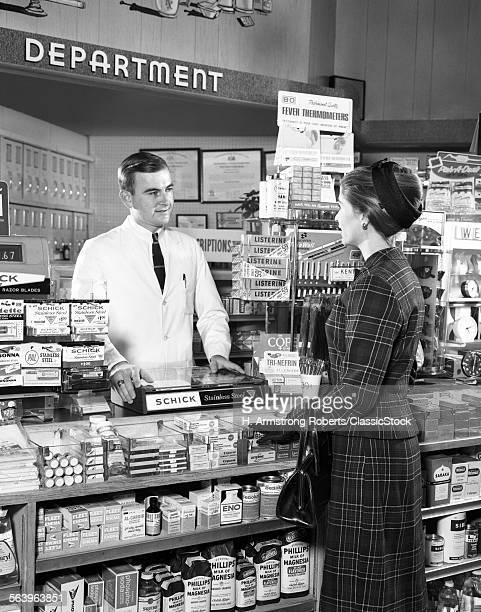 1960s MAN PHARMACIST...