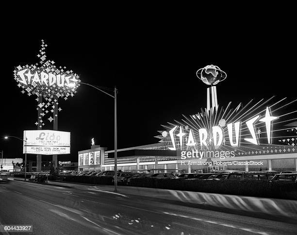 1960s NIGHT SCENE OF THE.