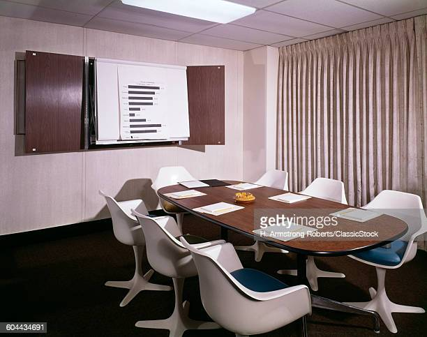 1960s OFFICE CONFERENCE.