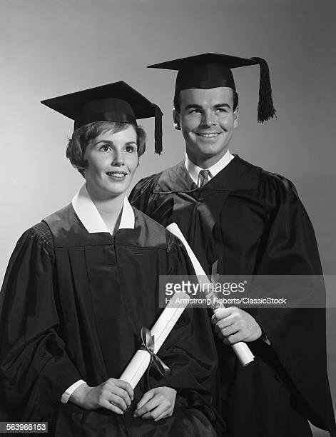 1960s PORTRAIT COUPLE MAN...