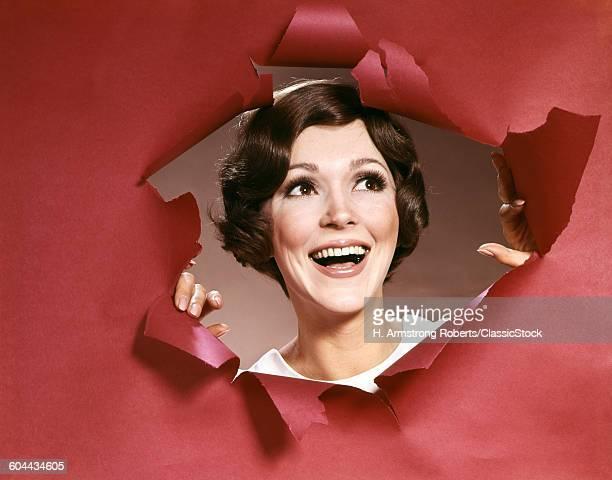 1960s PORTRAIT OF HAPPY.