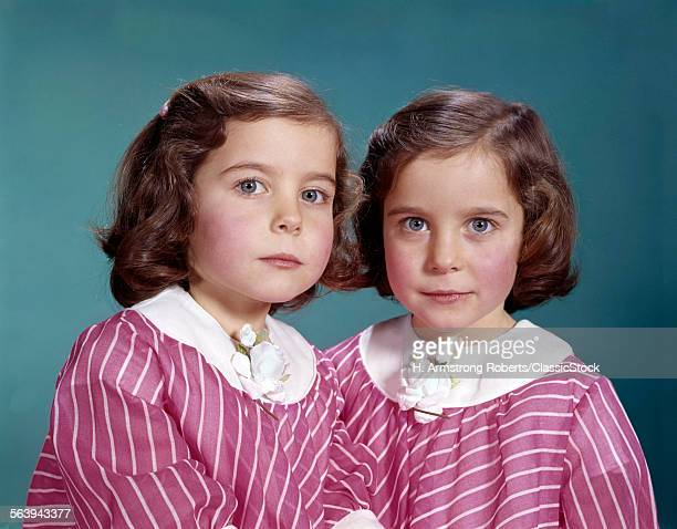1960s PORTRAIT TWIN...